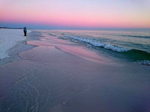 ocean pink sunset sky beach gulfofmexico water sand waves florida sony destin pinksky z3 android xperiaz3