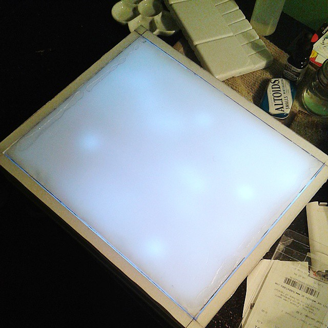 Got LED rice lights for my lightbox  This project is done … | Flickr