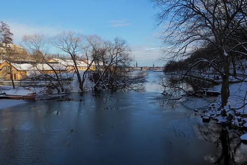 winter sky water stockholm olympus omd pålsundet em10
