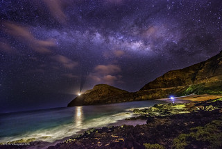 Milky Way Above Makapuu | by JUNEAU BISCUITS