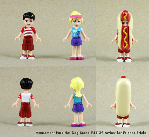 Set Review for Friends Bricks: 41129 - Hot Dog Stand | by fujiia.reviews