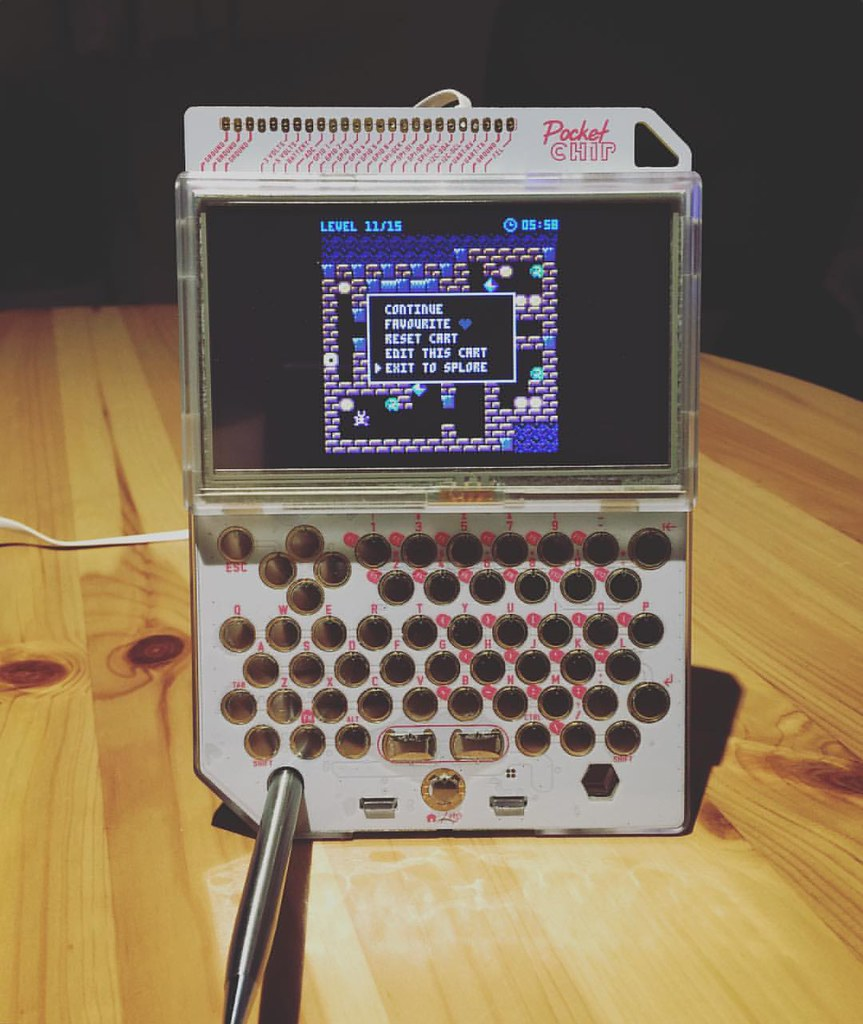 Had a solid fun with #pocketchip tonight  best cheap compu