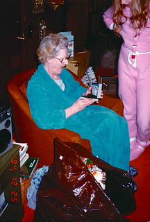 Indiana  -   Terre Haute   -   RR 21 Box 443   -   Christmas   -   Jessica & my mother   -   December 1984