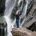 Irlanda, Condado de Wicklow, Powerscourt Waterfall 07