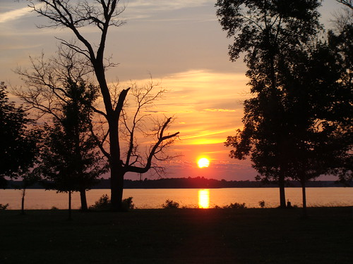 sunset lake wisconsin petenwell