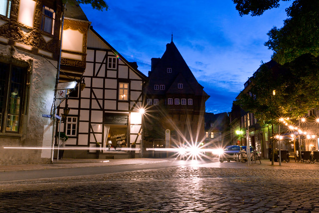 Evening in Goslar