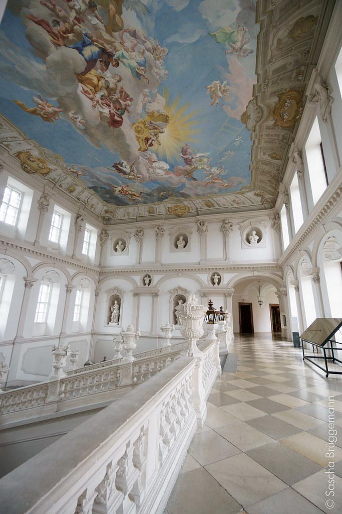 Treppenhaus mit Fresko | im Stift Göttweig | Sascha Brüggemann | Flickr