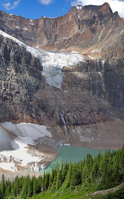 Lago proglaciar - Edith Cavell Glacier (Jasper NP, Canadá) - 02