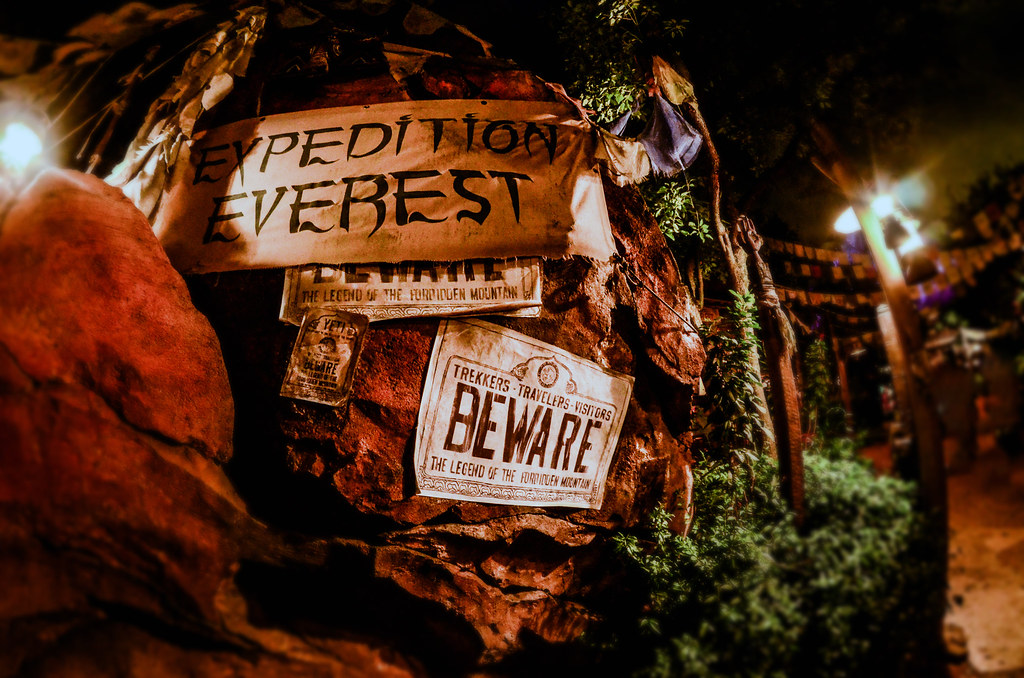 Beware expedition everest