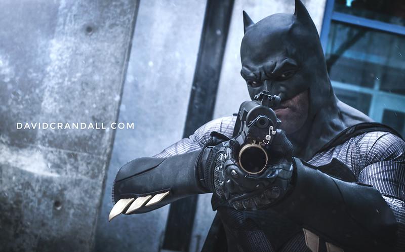 Batman Cosplay at Fanime 2016