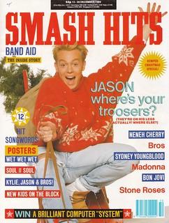 Smash Hits, December 13, 1989
