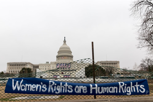 Women's Rights Are Human Rights at the Capitol, Women's March 2017 Washington DC | by Lorie Shaull