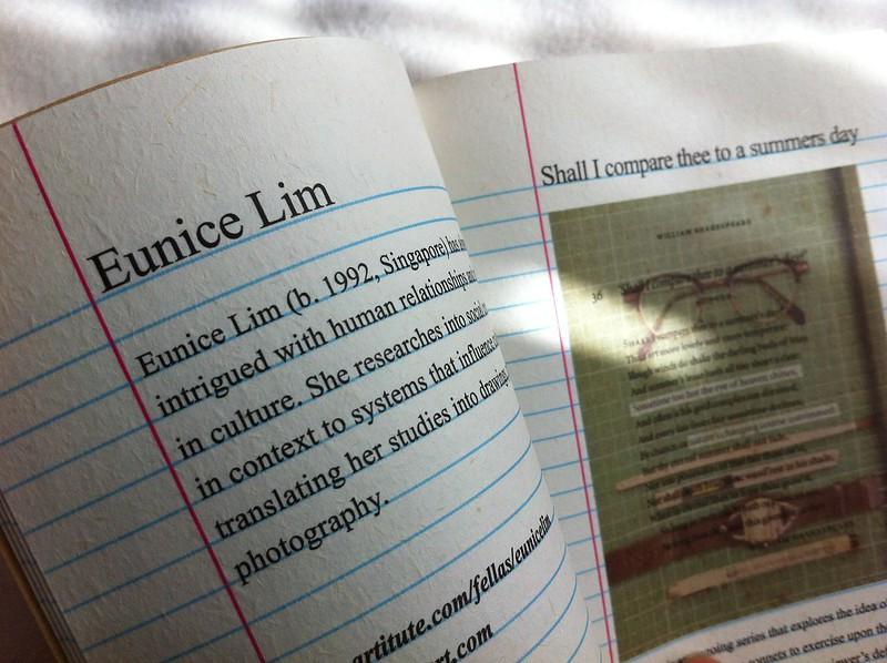 Artitute - Art Booklet 01 - Eunice Lim