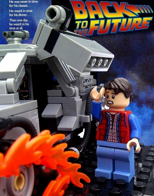 Lego Back To The Future Poster