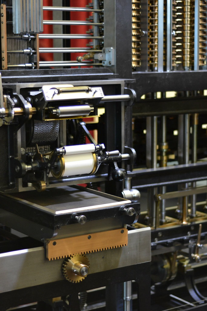 babbages difference engine     operating diffe flickr