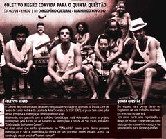 5.ª Questão Coletivo Negro - 02-05-2013