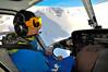 Jako head-guide čili ten, kdo instruuje pilota kde přistát a vybírá svahy, které se pojedou, sloužil Robin Kaleta