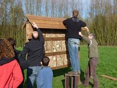 03.11.13 Bouwen van een bijenhotel