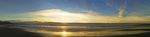 ireland sunset panorama seascape beach canon spring raw kerry tralee febuary 2015 landscapephotography bannabeach