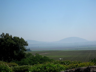 Mount Tabor in the distance   by daughterofzion96