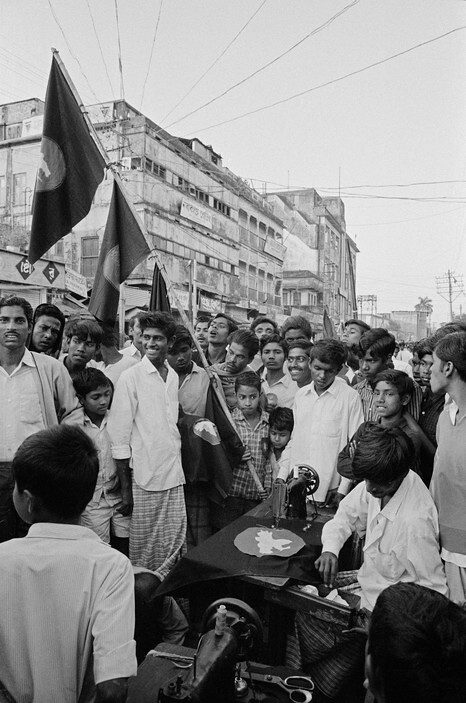 ABA1971016W00070-13 | EAST PAKISTAN  Dacca  Flags of the new
