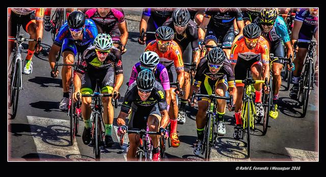 La cursa ciclista 21 (The Cycle Race 21) Algemesí 2016