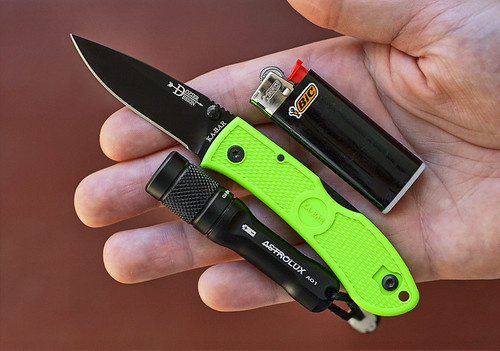 Ka-Bar Mini Dozier Folding Hunter