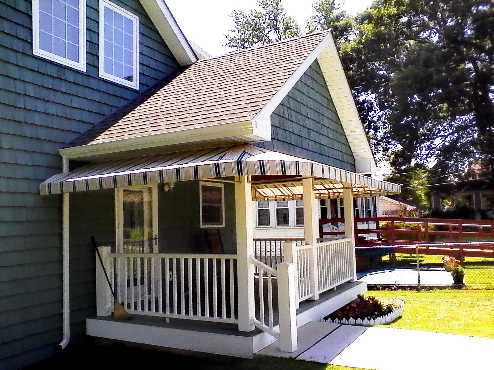 Residential-Porch Wrap Around Awning