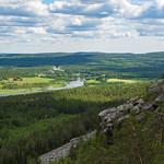 Näkymä Tornionjokilaaksoon