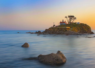 Battery Point Lighthouse, Crescent City | by davegriffiths