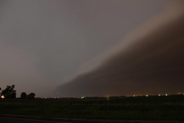 062113 - Late Night June Nebraska Thunderstorm