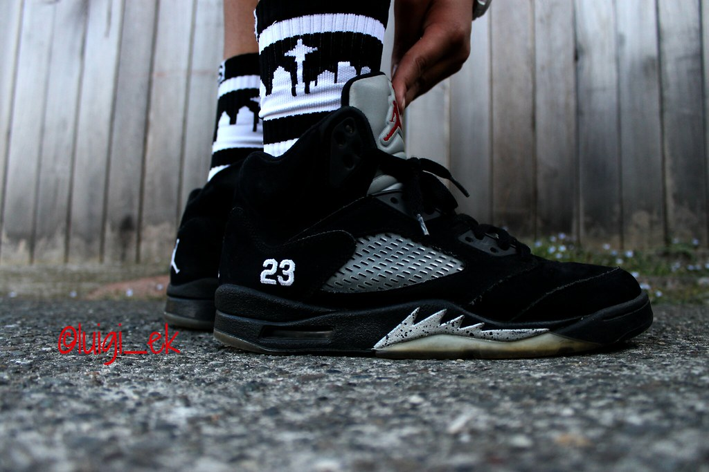 new style a772c 40311 2011 Metallic 5s on Feet | Luigi Kiocho | Flickr
