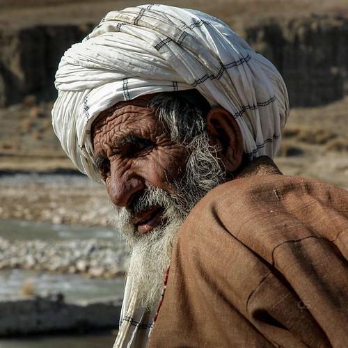 portrait people afghanistan man face