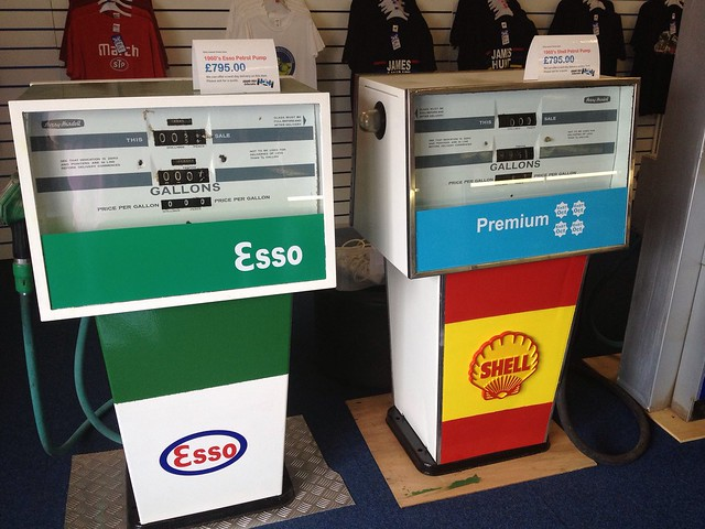 Petrol Pumps for sale at Donington Park