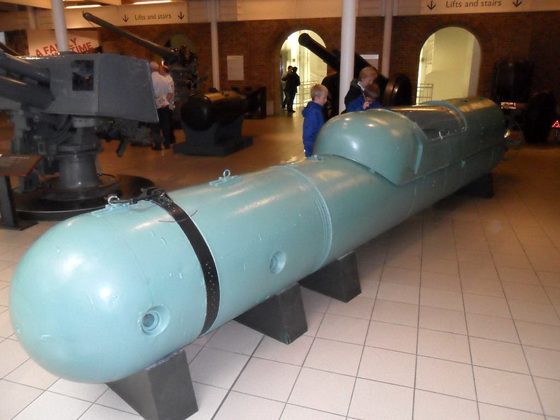 Italian Two Man Human Torpedo (1)