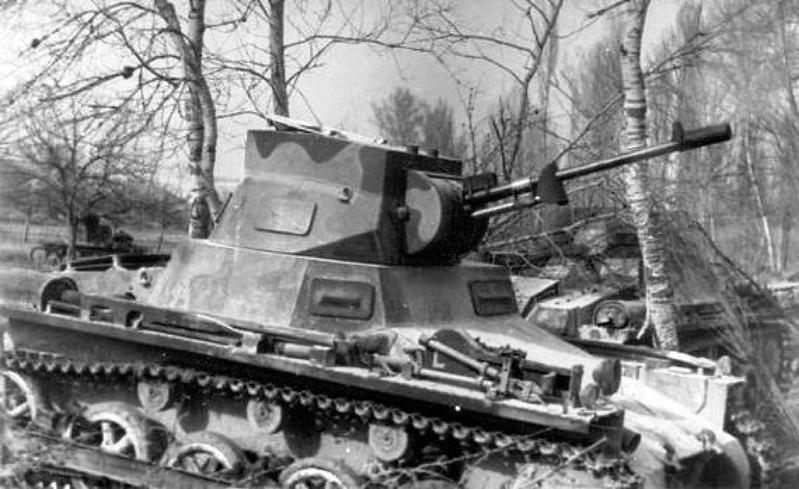 Panzer I & II (9)