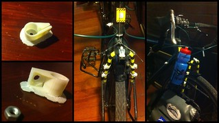 3D printed water bottle cage attachments | by anoved