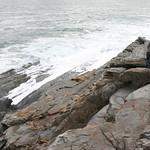 Hiking the rocks
