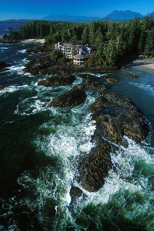Wickaninnish Inn, Chesterman Beach, Tofino, Vancouver Island, British Columbia