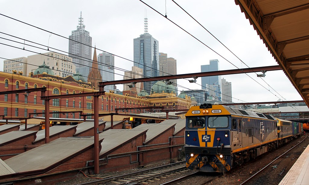 9371 at Flinders Street by S312 Photography