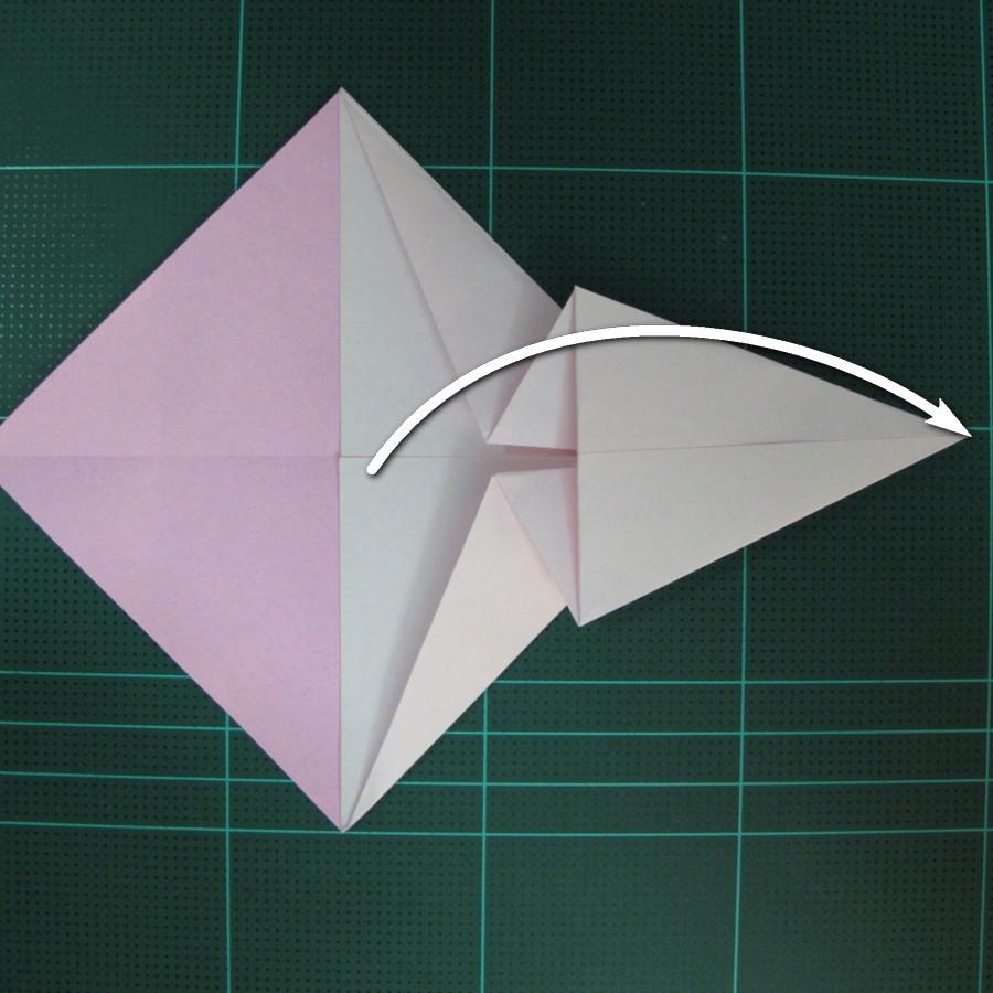 วิธีพับกระดาษเป็นรูปเครื่องบินแบบบินไกล (SST Origami Airplane) 010