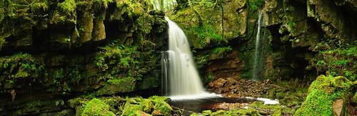 panorama waterfall