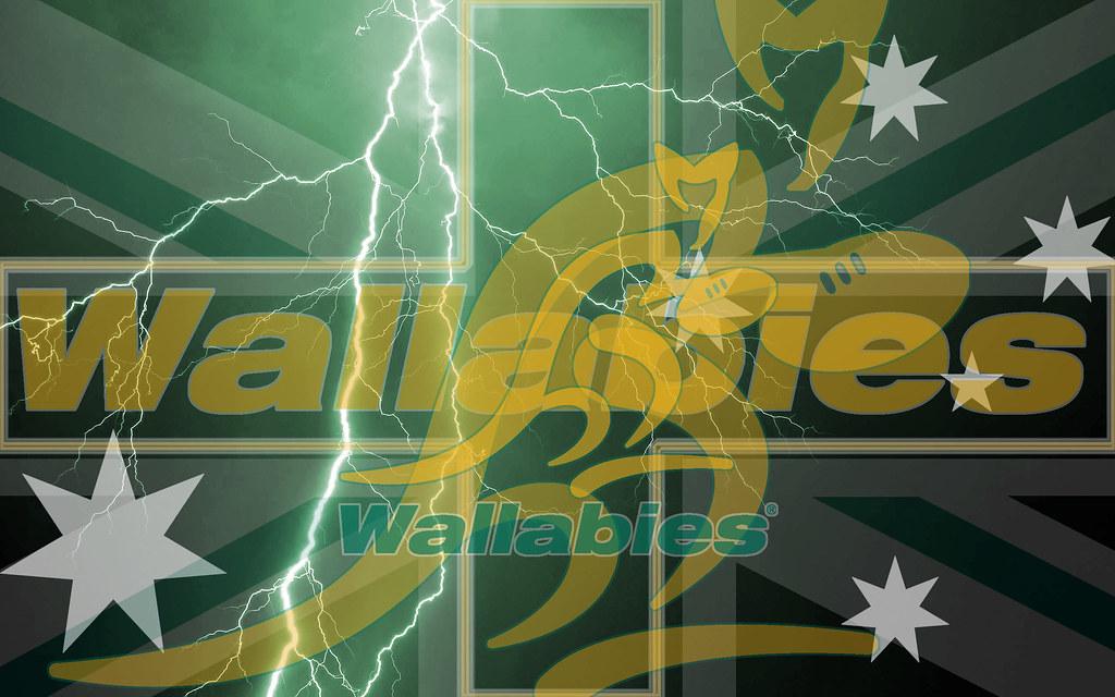 Australian Qantas Wallabies Lightning Wallpaper By Sunnybo Flickr