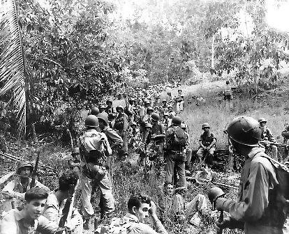 Marines en Guadalcanal