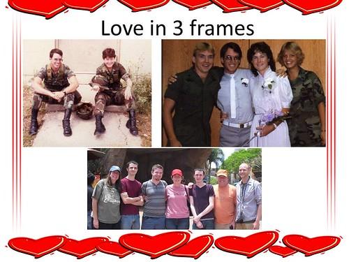 Love in 3 frames
