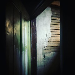 It's all about the light #oldspaces #attics #itsallaboutthelighting #photog #lathe #doors #behindthedoor