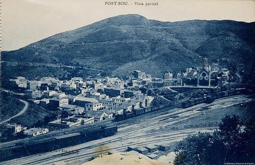 Portbou (Gerona) - Vista parcial | by Biblioteca Nacional de España