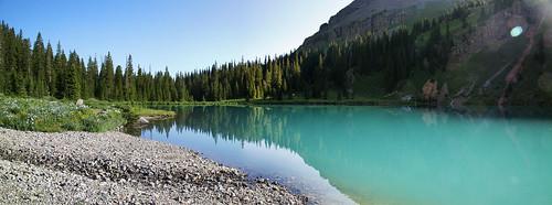 blue panorama landscape colorado view lakes mount co 14er sneffels