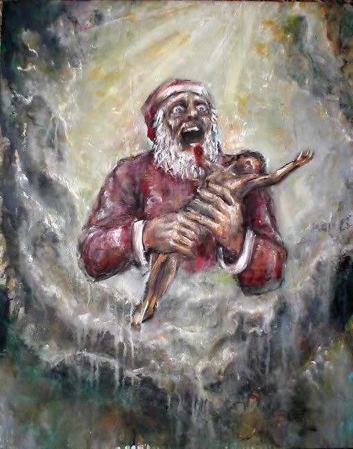 Evil Christmas.Evil Christmas 80x100 Cm Luca Palazzi At Winderkammer