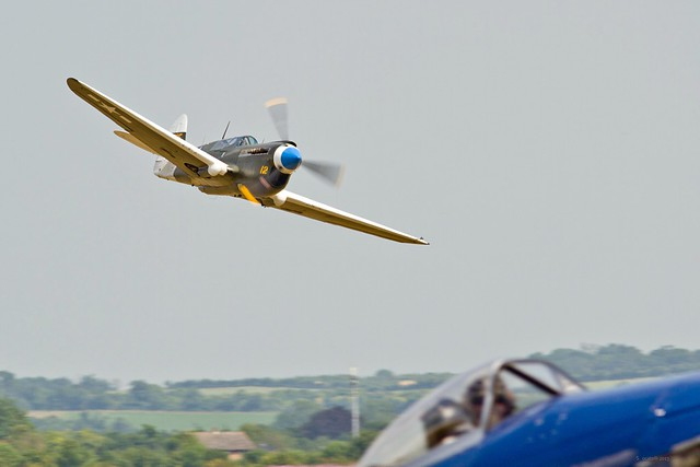 Low level at Duxford